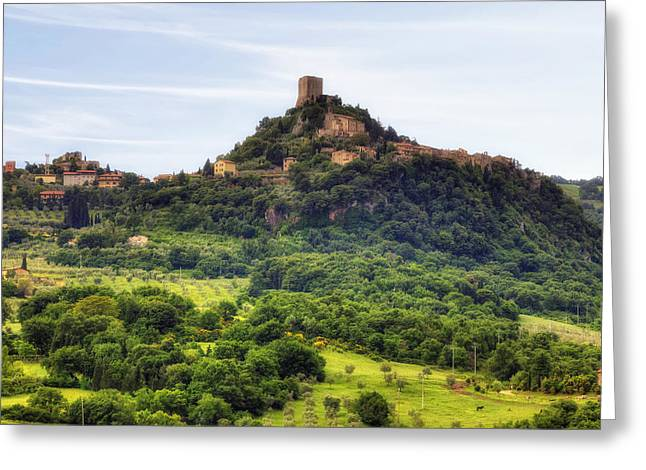 Tuscany - Castiglione D'orcia Greeting Card