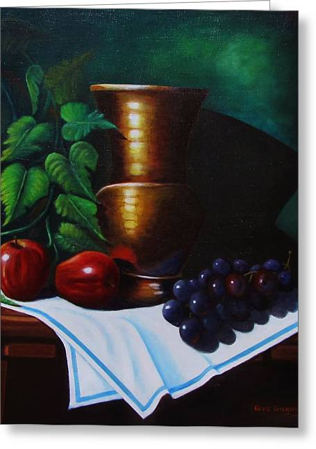Tuscany Still Life Greeting Card