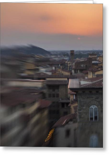 Tuscany Sunset Greeting Card by Celso Bressan