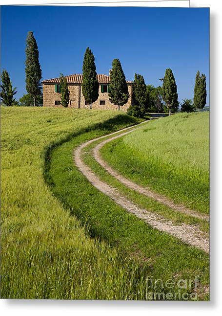 Tuscany Villa Greeting Card