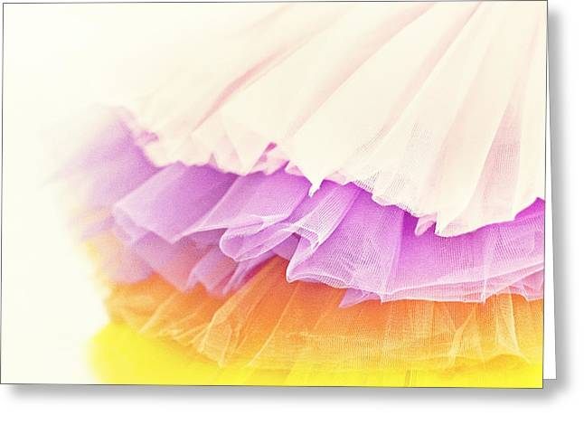 Tutu Candy Greeting Card by Whimsy Canvas
