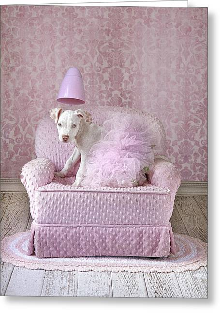 Tutu Dog Greeting Card