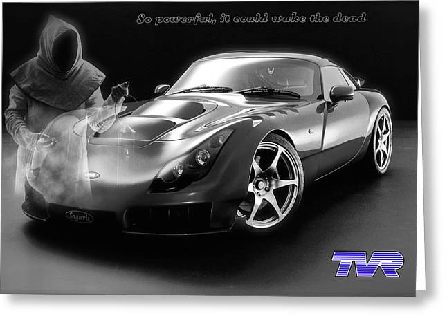 Tvr - Waking The Dead Greeting Card by ISAW Gallery