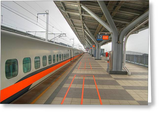 Tw Bullet Train 2 Greeting Card