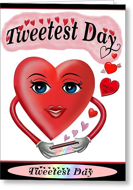 Tweetest Day Greeting Card by Glenn Holbrook