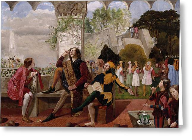 Twelfth Night, Act II, Scene Iv Greeting Card