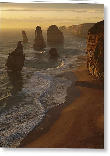 Twelve Apostles Australia Greeting Card by Grant  Dixon