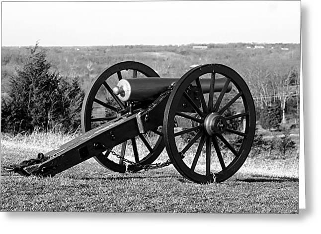 Twelve Pound Napoleon Overlooking Battleground - Perryville Ky Greeting Card
