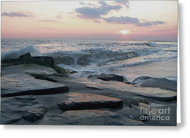Twilight At Cape May In October Greeting Card