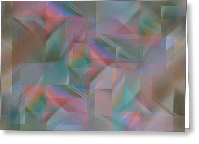 Twilight - Digital Abstract Greeting Card