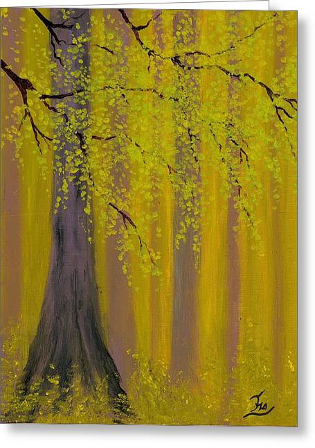 Twilight Forest 1 Greeting Card