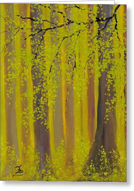 Twilight Forest 2 Greeting Card