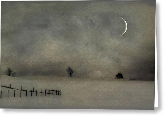Twilight Greeting Card by Kathy Jennings