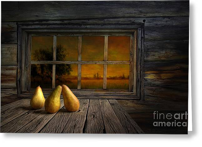Twilight Of The Evening Greeting Card by Veikko Suikkanen