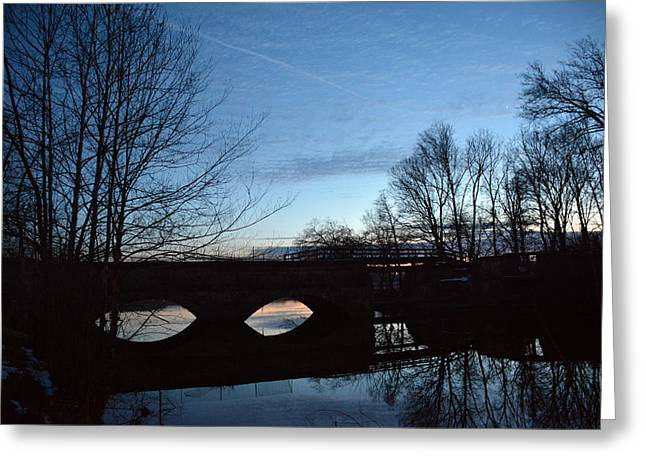 Twilight On The Potomac River Greeting Card by Bill Helman