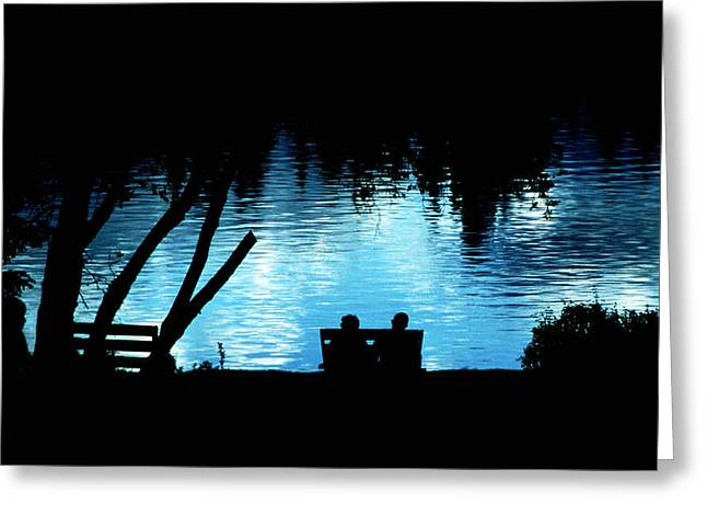 Greeting Card featuring the photograph Twilight Reverie by Mike Flynn