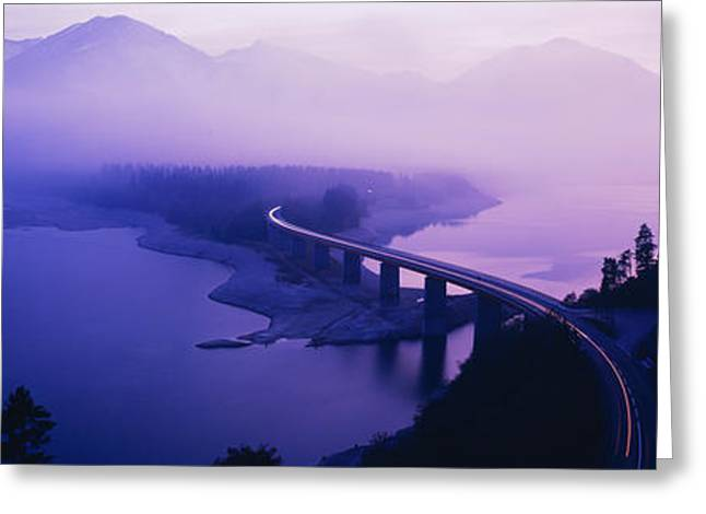 Twilight Road Germany Greeting Card by Panoramic Images