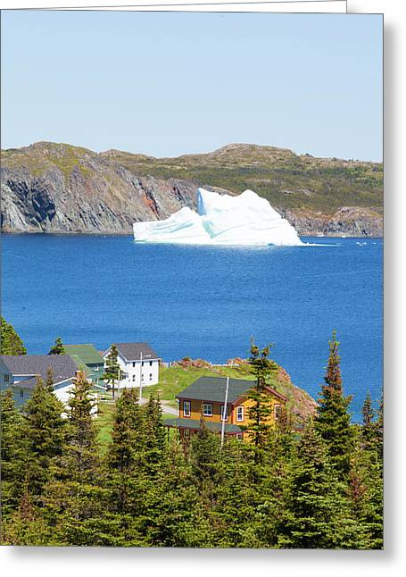 Twillingate, Newfoundland, Canada Greeting Card
