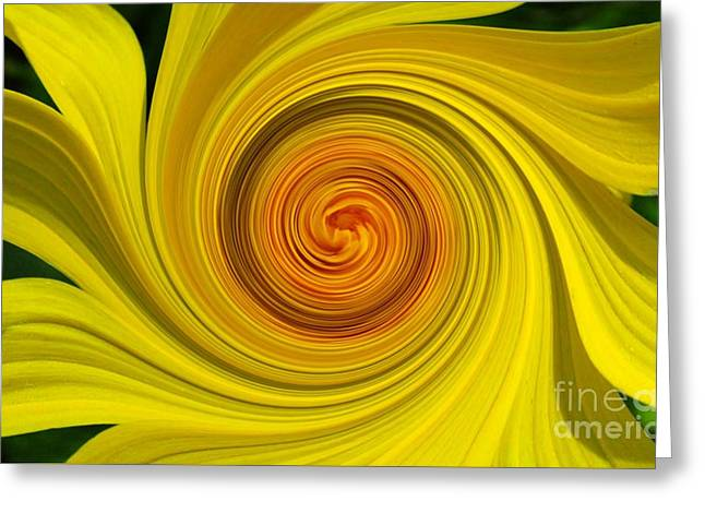 Twisted Greeting Card by Janice Westerberg