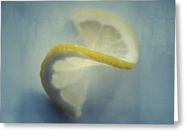 Twisted Lemon Greeting Card