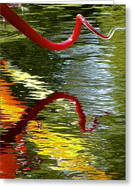 Twisted Ripples Greeting Card