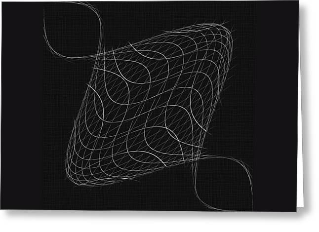 Twisted Wires Greeting Card