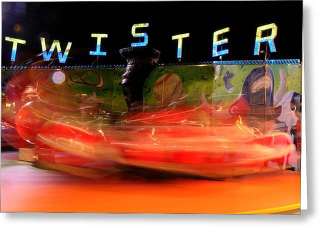 Twister Greeting Card