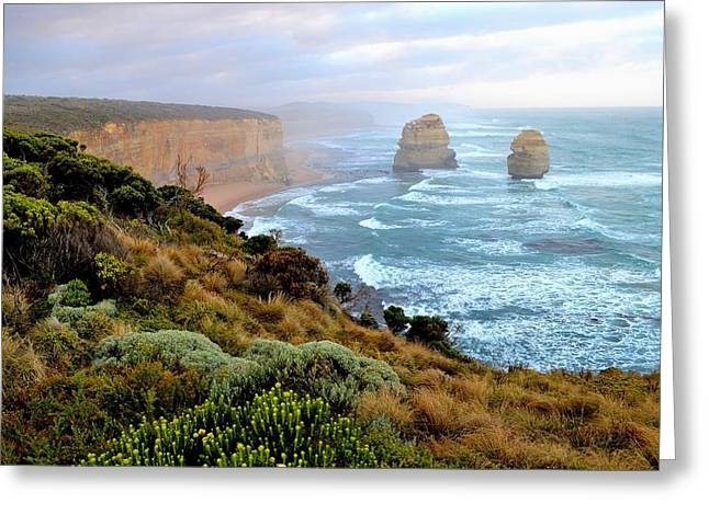 Two Apostles - Great Ocean Road - Australia Greeting Card