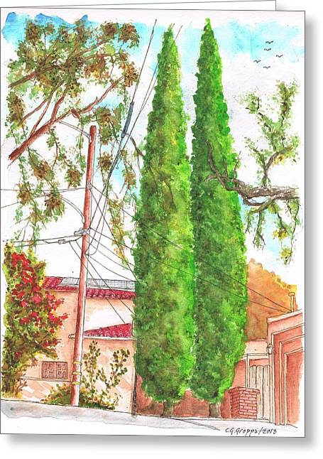 hollywood hills greeting cards page 5 of 14 fine art america