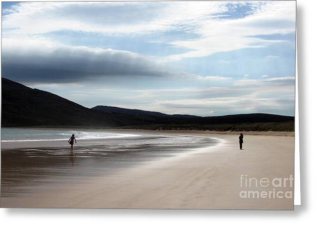 Two On A Beach Greeting Card