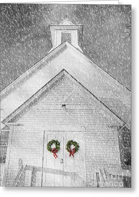 Two Wreaths Greeting Card