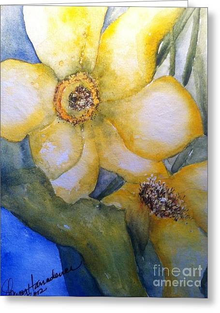 Twosome Greeting Card by Sherry Harradence