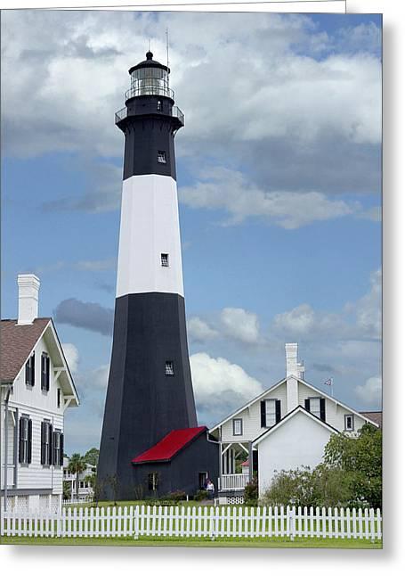 Tybee Island Light Greeting Card