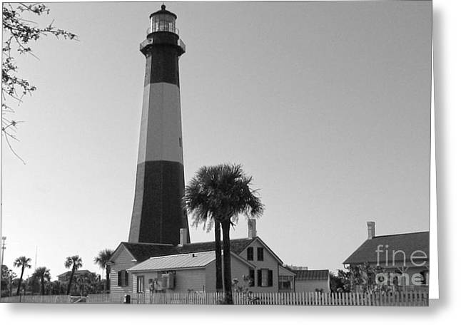 Tybee Lighthouse 1 Greeting Card by D Wallace