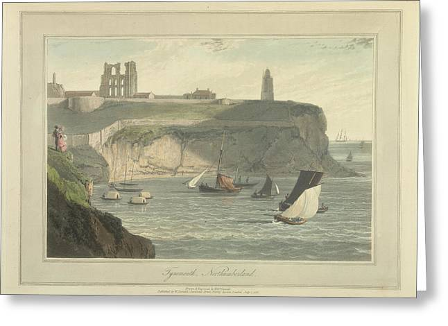 Tynemouth Greeting Card by British Library