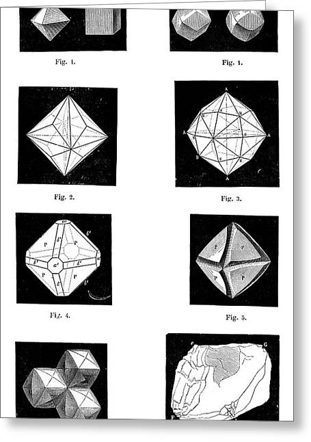 Types Of Diamonds Greeting Card