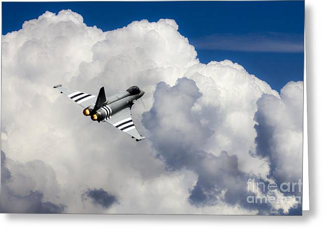 Typhoon Fighter  Greeting Card by J Biggadike
