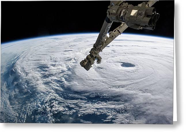 Typhoon Neoguri Greeting Card by Nasa