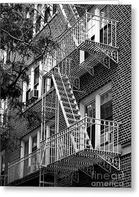 Typical Building Of Brooklyn Heights - Brooklyn - New York City Greeting Card