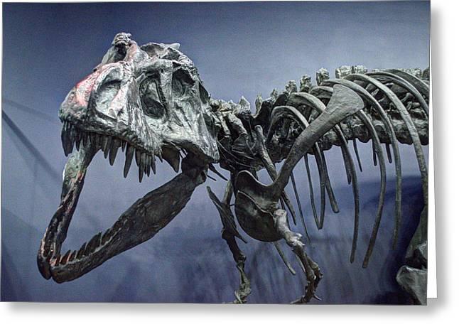 Tyrannosaurus Jane Greeting Card