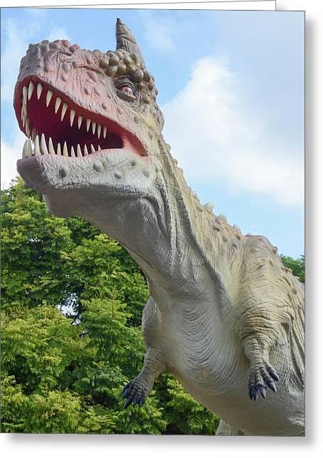 Tyrannosaurus Rex (t. Rex) Greeting Card
