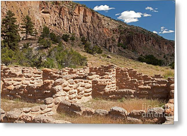Tyuonyi Bandelier National Monument Greeting Card