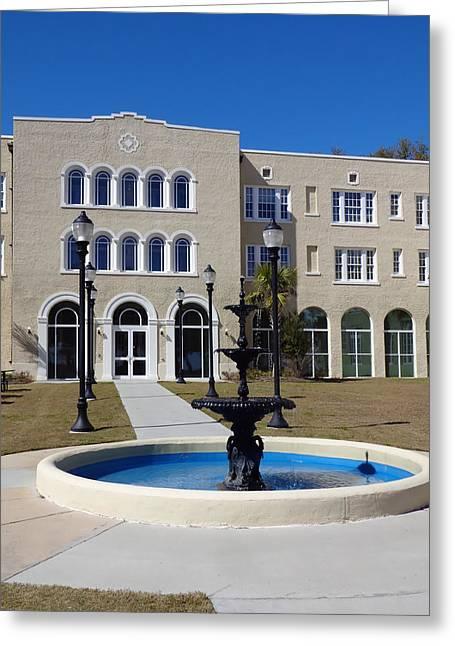 U S M Gulf Coast Hardy Hall Greeting Card
