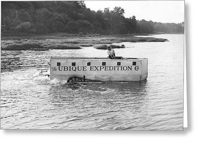 Ubique Expedition Company Greeting Card by Underwood Archives