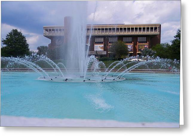 Ucf Reflection Pond 2 Greeting Card