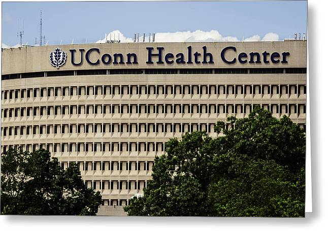 University Of Connecticut Uconn Health Center Greeting Card