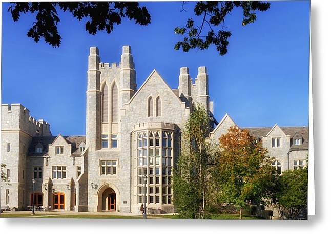 Uconn Law School Greeting Card by Mountain Dreams