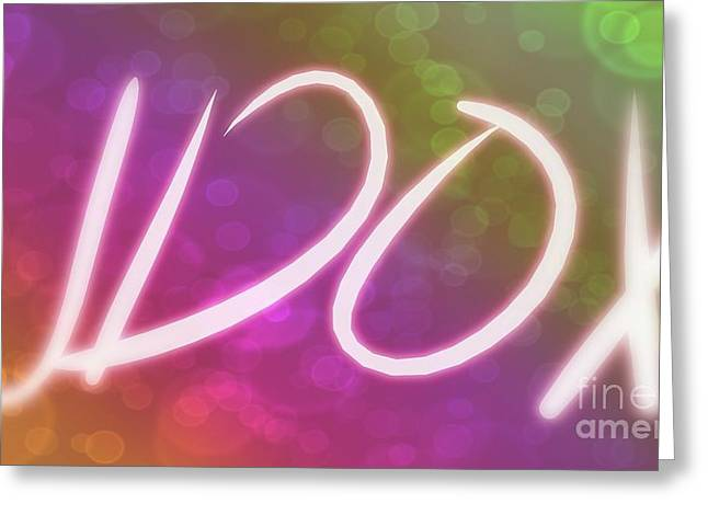 Udox 03 Greeting Card