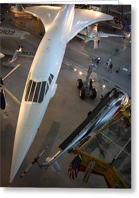 Udvar-hazy Center - Smithsonian National Air And Space Museum Annex - 1212105 Greeting Card by DC Photographer