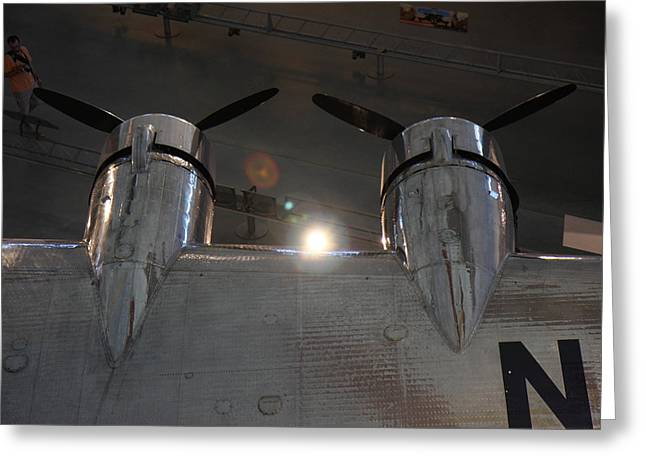 Udvar-hazy Center - Smithsonian National Air And Space Museum Annex - 1212106 Greeting Card